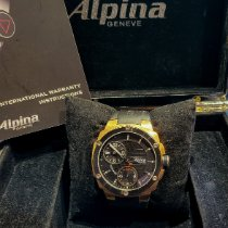Alpina Avalanche Сталь Черный Без цифр