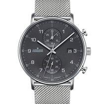 Junghans FORM C Steel 40mm Grey