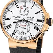 Ulysse Nardin Marine Chronometer Manufacture Rose gold 45mm White Roman numerals United States of America, California, Moorpark