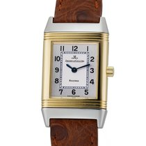 Jaeger-LeCoultre Reverso (submodel) Gold/Steel 20mm Silver Arabic numerals United States of America, New York, New York