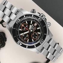 Breitling Superocean Chronograph II Steel 44mm Black