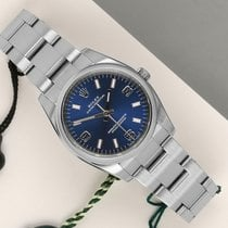 Rolex Oyster Perpetual 34 Staal 34mm Blauw Nederland, Maastricht