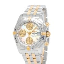 Breitling Chrono Cockpit Steel 39mm Mother of pearl United States of America, New York, Hartsdale
