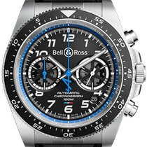 Bell & Ross Steel 43mm Automatic BR V3 new