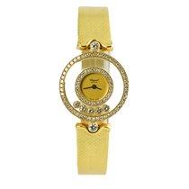 Chopard 20/3957-0001 Žluté zlato 2012 Happy Diamonds 24mm použité