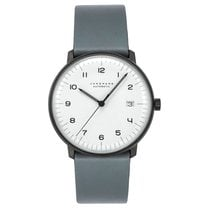 Junghans max bill Automatic Steel 38mm White Arabic numerals United States of America, New Jersey, Cresskill