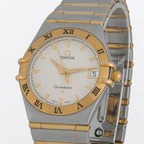 Omega 1212.30.00 Goud/Staal 2001 Constellation 33.5mm tweedehands