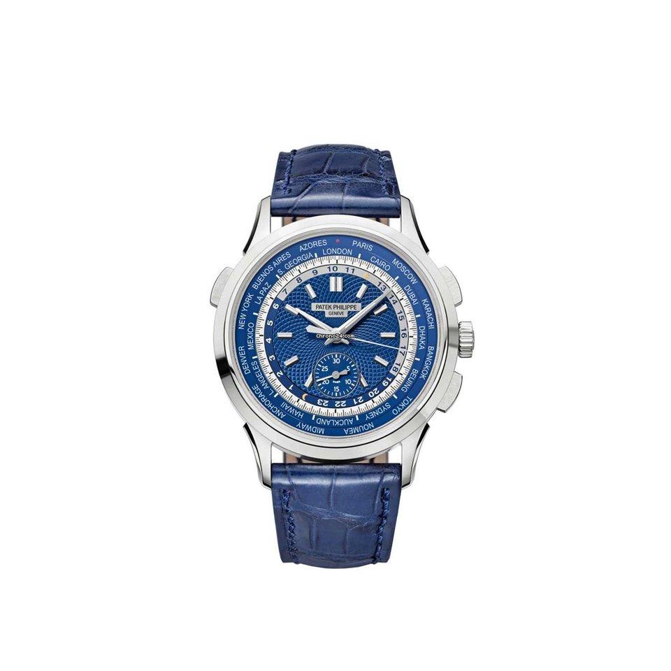 Patek Philippe World Time Chronograph 5930G-001 2017 occasion