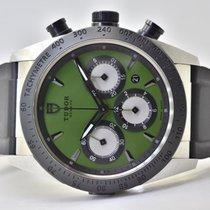 Tudor Fastrider Chrono Acero 42mm Verde Sin cifras