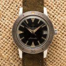 Zodiac Sea Wolf Сталь 35mm Черный Aрабские