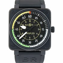 Bell & Ross BR 01-92 подержанные 46mm Черный Каучук