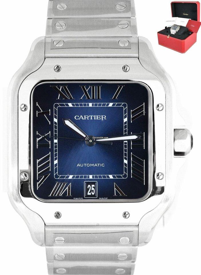Cartier Santos (submodel) WSSA0030 new