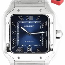 Cartier Santos (submodel) Steel 40mm Blue Roman numerals United States of America, New York, Smithtown