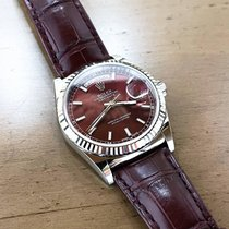 Rolex Day-Date 36 Or blanc 36mm Rouge Sans chiffres France, Marseille