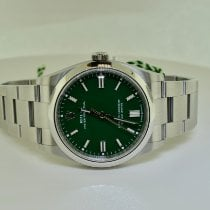 Rolex Oyster Perpetual 36 Steel 36mm Green No numerals United States of America, New York, Massapequa