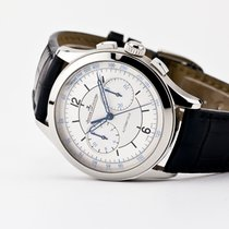 Jaeger-LeCoultre Master Chronograph Steel 40mm Silver United States of America, New Jersey, Oradell