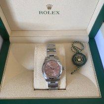 Rolex Oyster Perpetual 31 Steel 31mm Pink No numerals Australia, 6028
