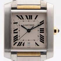 Cartier Gold/Steel 28mm Automatic 2302 pre-owned