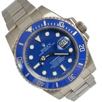 Rolex 116619LB White gold 2009 Submariner Date 40mm pre-owned