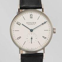 NOMOS Tangente Steel 35mm White Arabic numerals