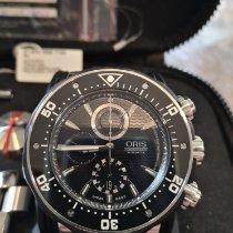 Oris Titane 51mm Remontage automatique 01 774 7683 7154 set occasion Belgique, thuin