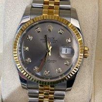 Rolex Datejust Acero y oro 36mm Plata
