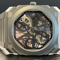 Bulgari Titanyum 40mm Manuel kurmalı 102714 yeni