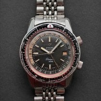 Enicar Steel 43mm Automatic 148.35.01A pre-owned