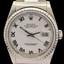 Rolex Datejust 16220 Odlično Zeljezo 36mm Automatika