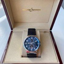 Ulysse Nardin Marine Chronometer 41mm Steel 41mm Blue Arabic numerals