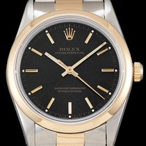 Rolex Oyster Perpetual 14203 Very good Gold/Steel 34mm Automatic