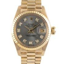 Rolex 6917 Oro giallo 1982 Lady-Datejust 26mm usato