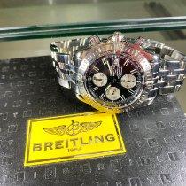Breitling Chronomat Evolution Steel 44mm Black No numerals
