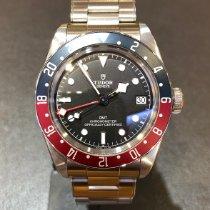 Tudor Black Bay GMT Сталь 41mm Черный Без цифр