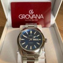 Grovana Steel 43mm 7090.2135 pre-owned