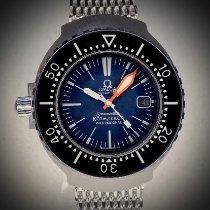 Omega Seamaster gebraucht Blau Stahl