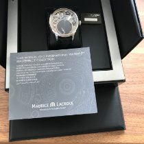 Maurice Lacroix neu Automatik Sichtboden 43mm Stahl Saphirglas