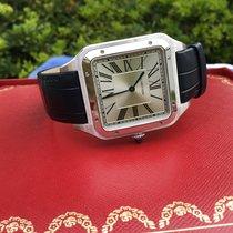 Cartier Santos Dumont Steel 46.6mm Silver Roman numerals United States of America, California, Costa Mesa