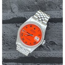 Rolex Datejust Steel 36mm Orange United Kingdom, Reigate