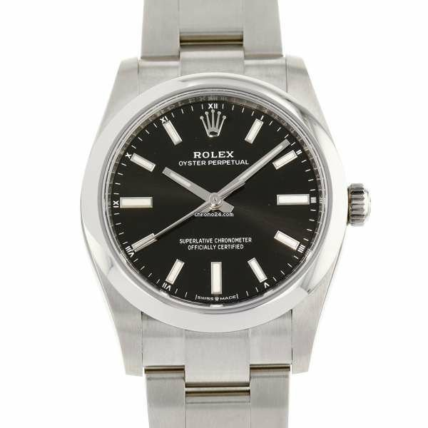 Rolex Oyster Perpetual 34 124200 2020 new