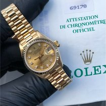 Rolex Lady-Datejust 69178 Very good Yellow gold 26mm Automatic United Kingdom, Reigate