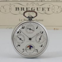 Breguet Watch pre-owned 1924 White gold 47mm Arabic numerals Manual winding Watch with original papers