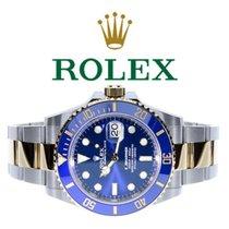 Rolex Submariner Date Gold/Stahl 41mm Blau Keine Ziffern Deutschland, Essen