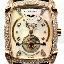 Parmigiani Fleurier Kalpa Rose gold 37mm Mother of pearl Arabic numerals United States of America, Florida, Tavernier