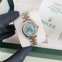 Rolex Lady-Datejust Gold/Steel 26mm Blue No numerals United Kingdom, Reigate
