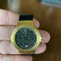 Hublot Yellow gold Automatic Black 37mm pre-owned