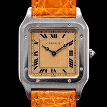 Cartier Santos Dumont Платина 27mm Римские