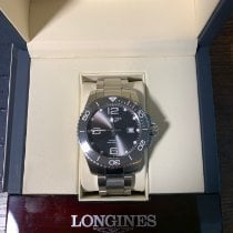 Longines HydroConquest pre-owned 43mm Grey Date Steel