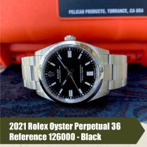 Rolex Oyster Perpetual 36 Steel 36mm Black No numerals United States of America, Florida, Coral Gables