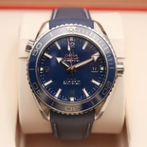 Omega Seamaster Planet Ocean Titan Blau Arabisch